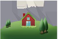 Cerca una casa in montagna