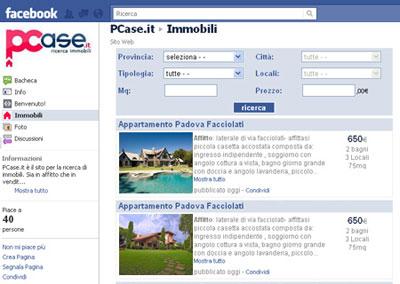 I tuoi immobili anche su Facebook!