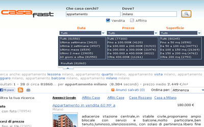 Nuovo Partner: CasaFast.com!